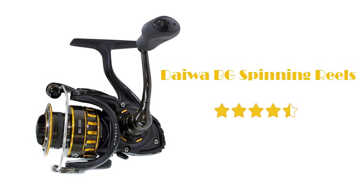 Daiwa BG Spinning Reels