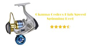 Okuma Cedros High-Speed Spinning Reel Review – The Best Quality High-Speed Fishing Reel
