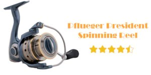 Pflueger President Spinning Reel Review – The Fishing Reel That Improves Your Accuracy