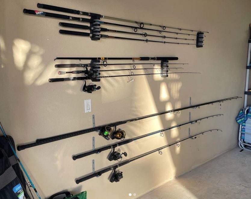 Wall Mounted Rod Racks