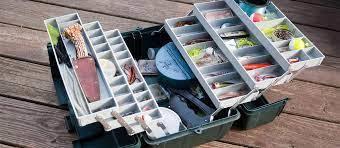 Hard Plastic Tackle Box
