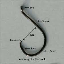 Fishing Hook Anatomy